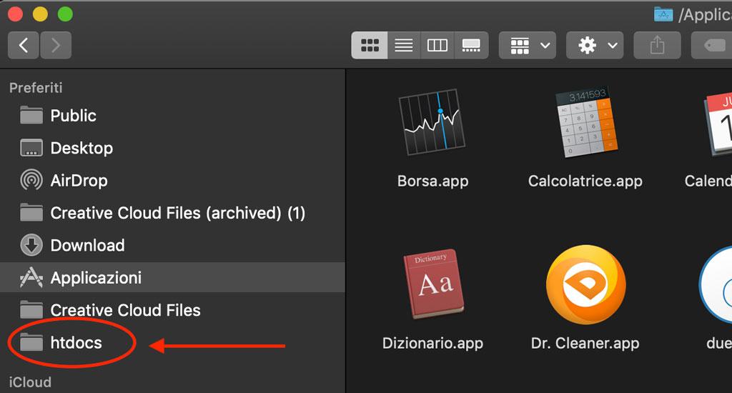 Come caricare e installare MAMP su MacOS